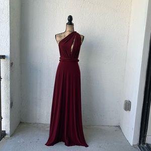 Burgundy infinity Dress!!!👗👗😍😍